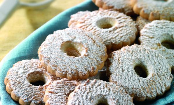 Canestrelli (citromos keksz)