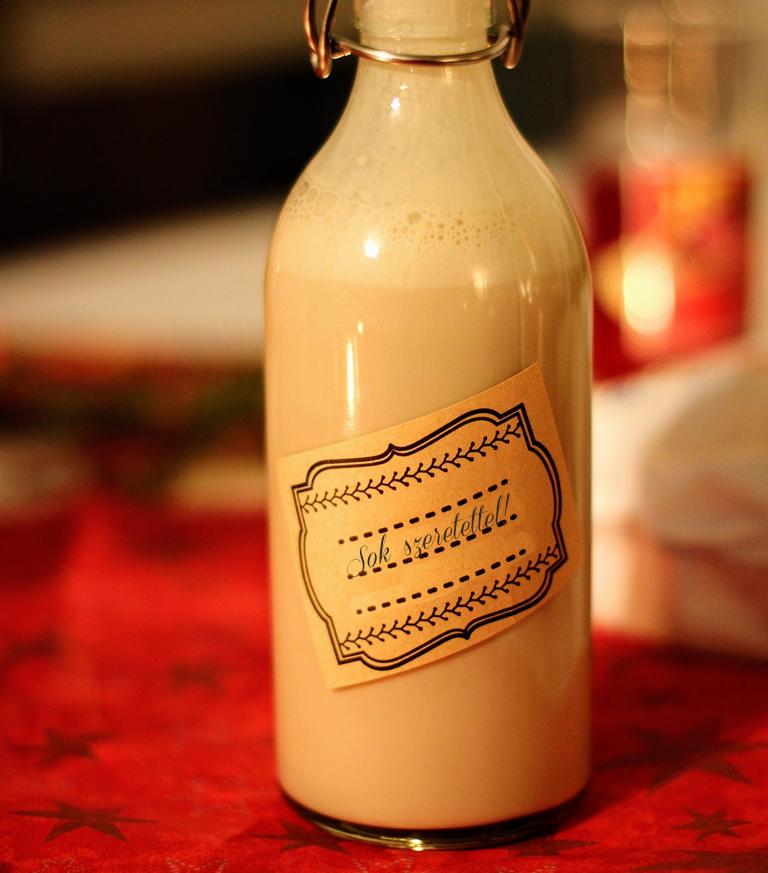 Mézeskalács likör