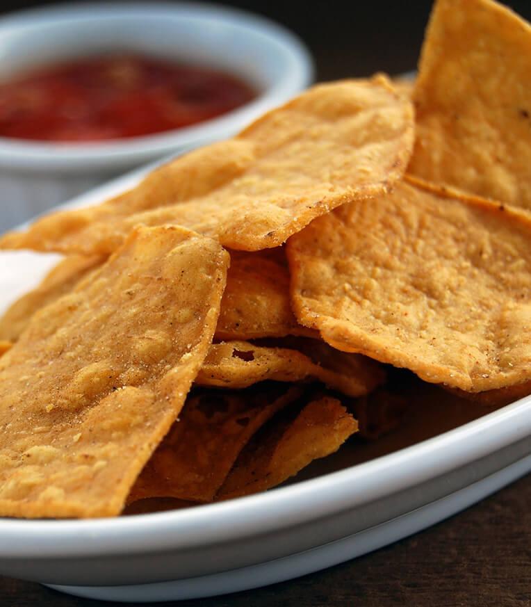 Chia és quinoa tortilla chips